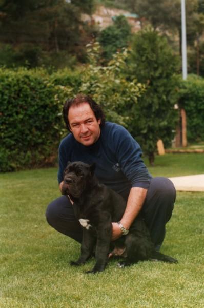 1989 - El alma de CAN RAYO, en la foto con Tyson, CH. QUILATE DE ROYFONTE